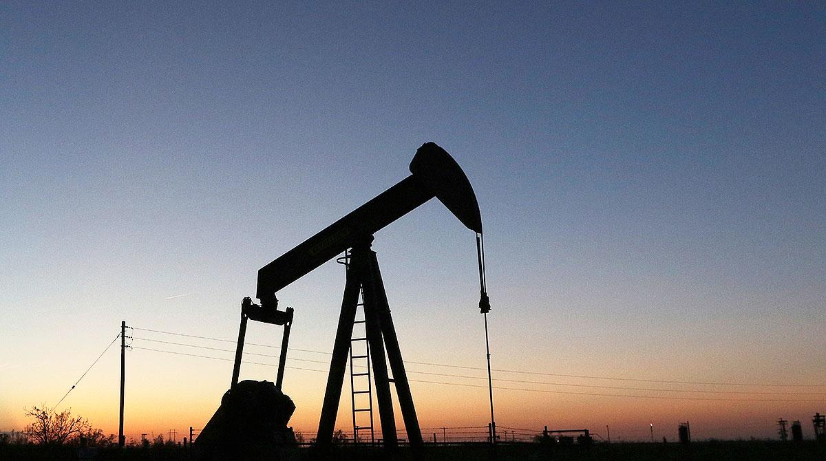 oil pump jack in Permian Basin