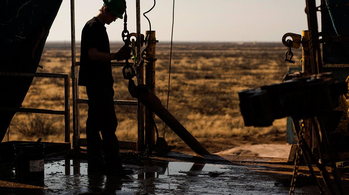 Oil Worker in Texas