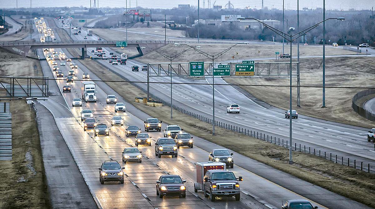 I-35 in Oklahoma City