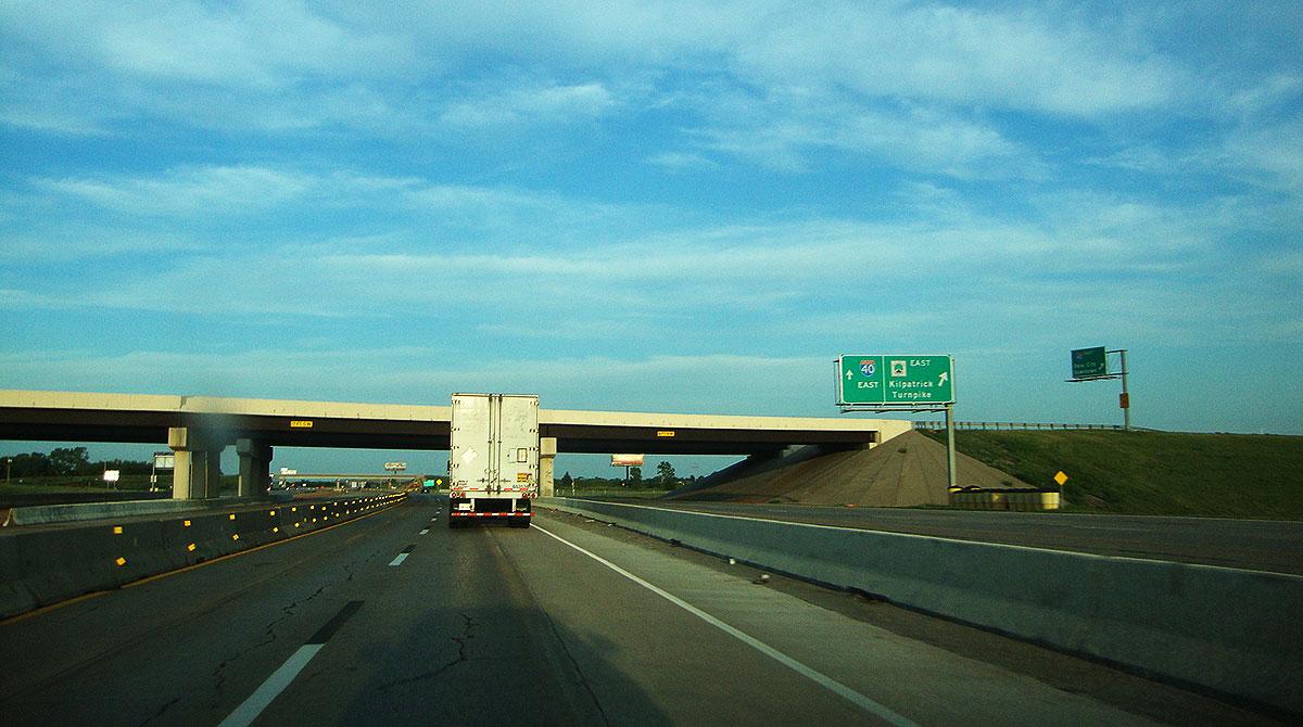 Kilpatrick Turnpike in Oklahoma
