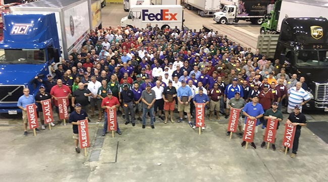 One Team Florida photo from 2018 Truck Driving Championships