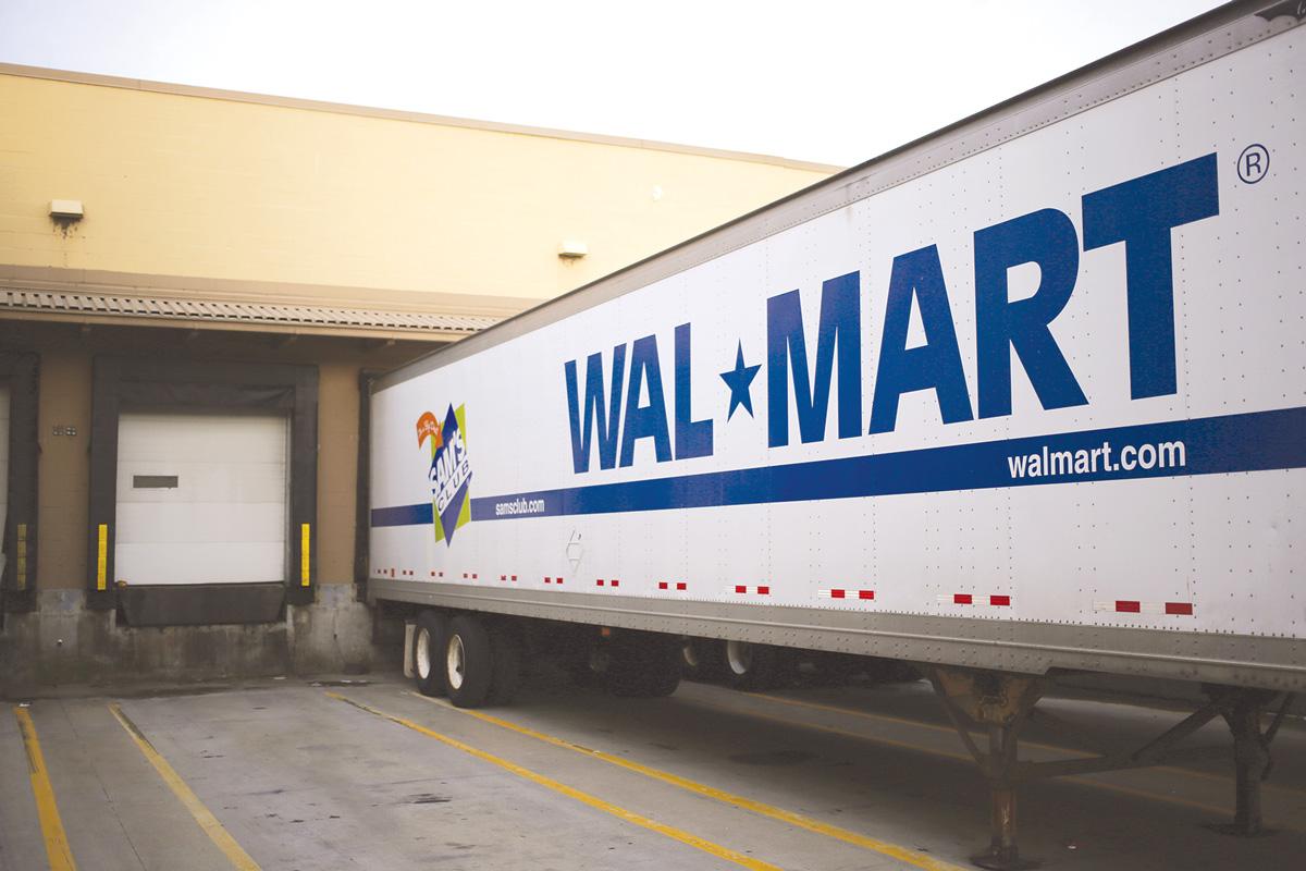 Walmart Trailer