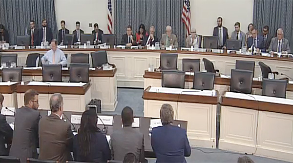 House Environment Subcommittee hearing