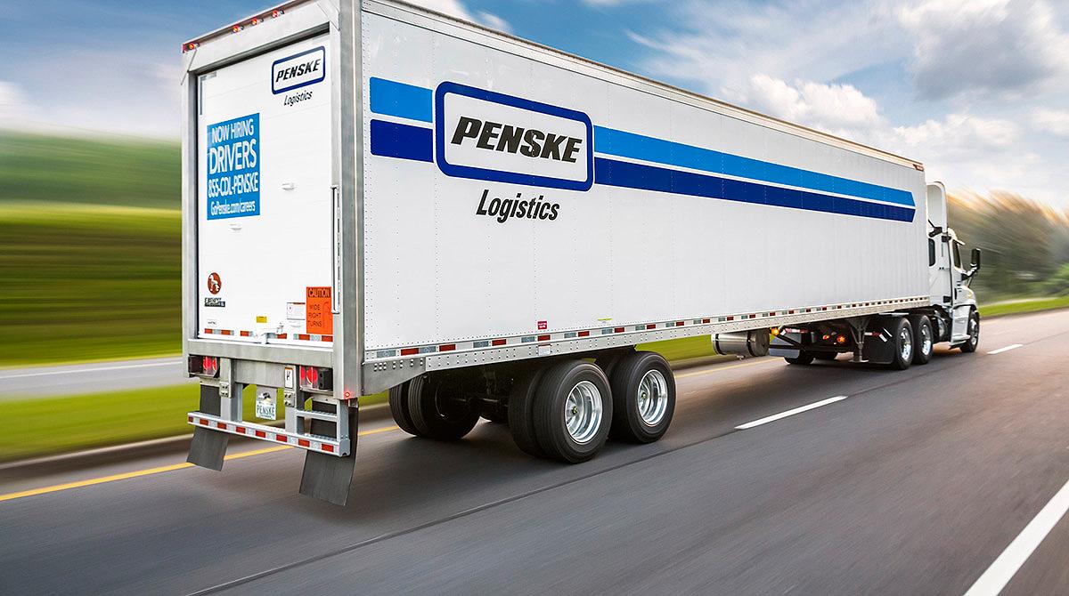 Penske Logistics trailer