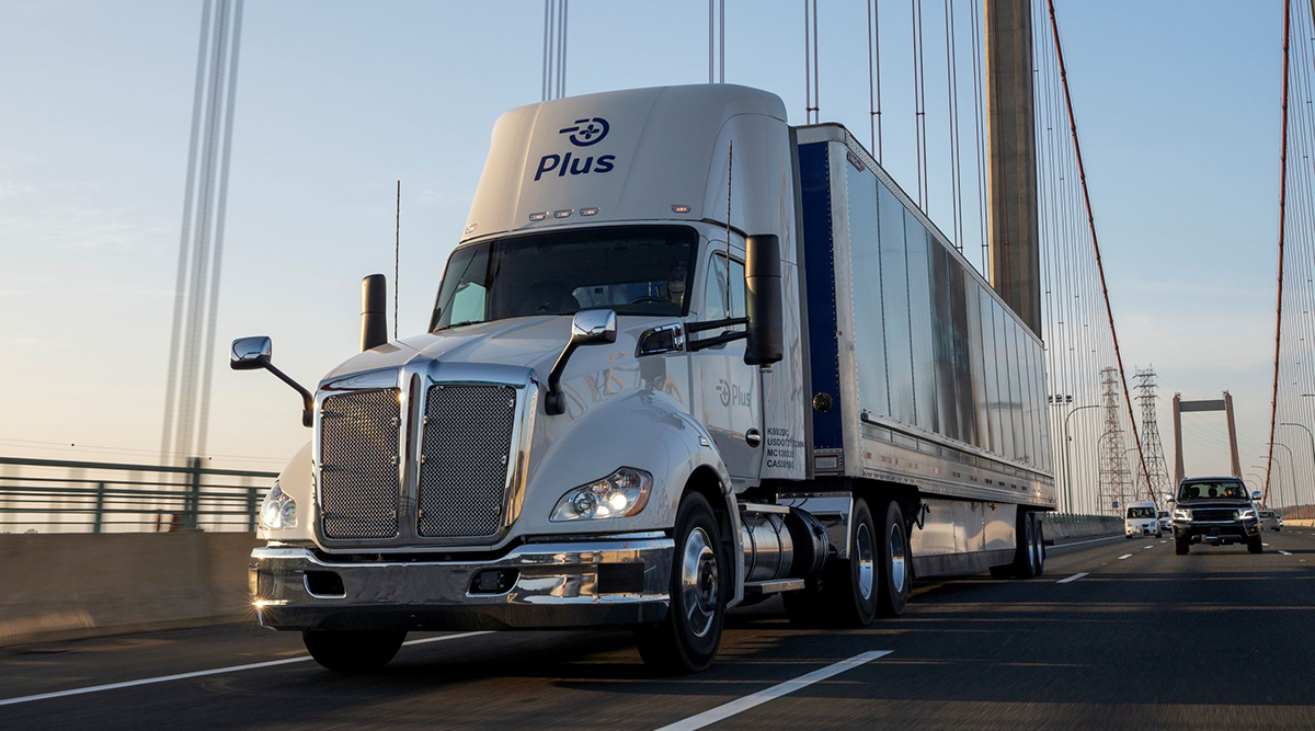 A Plus autonomous truck