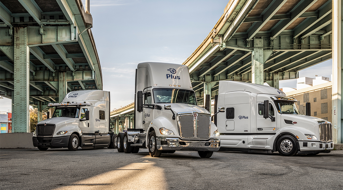 Plus automated trucks