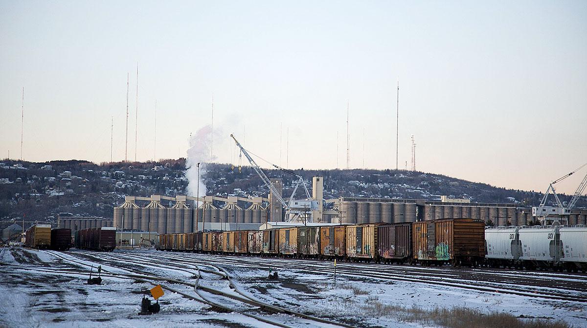 Railyard at Port Duluth