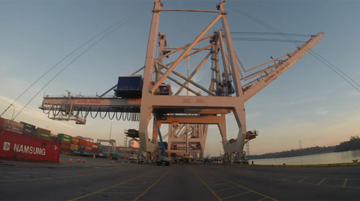 Port of Savannah's Garden City Terminal