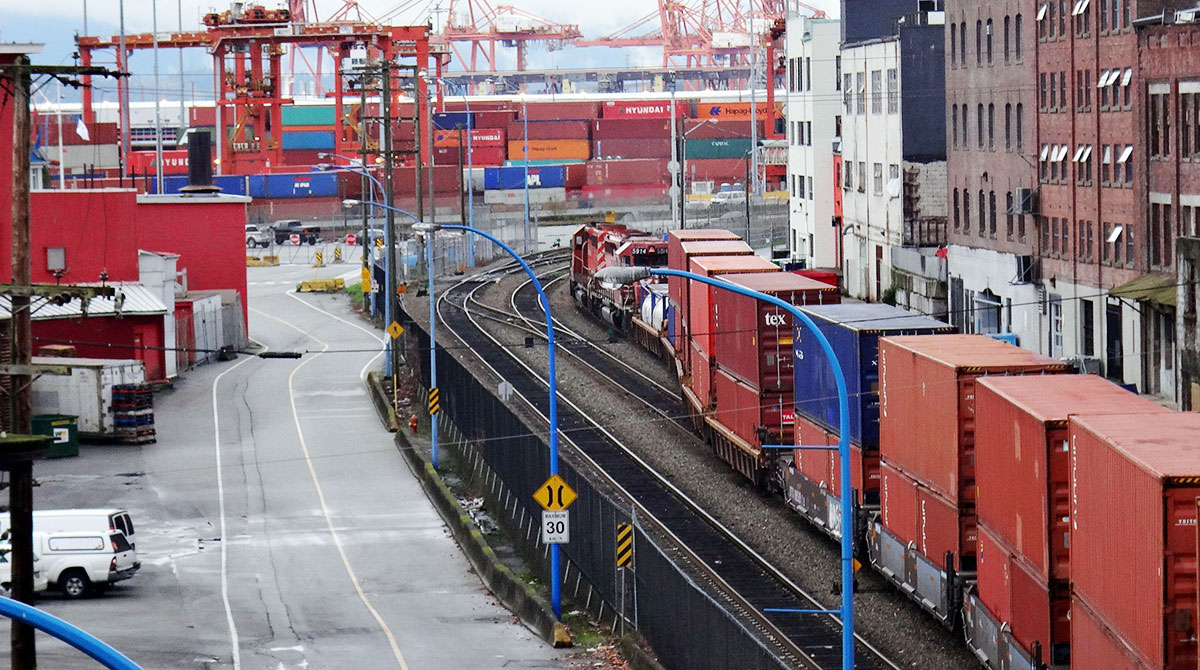 Intermodal Containers in Vancouver