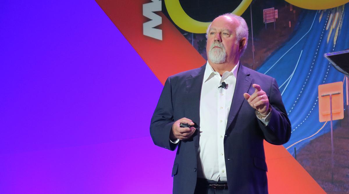 American Trucking Associations Chairman Barry Pottle