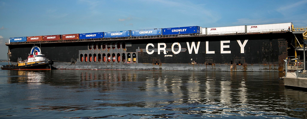 Crowley Barge