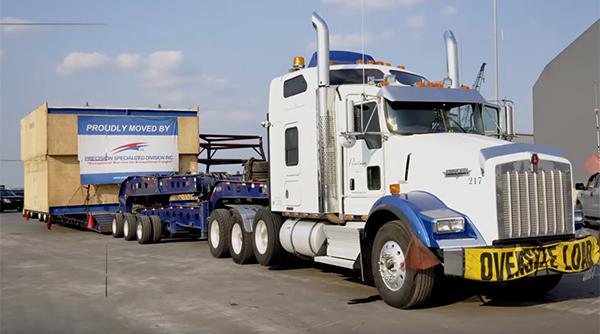 Precision Specialized Division truck