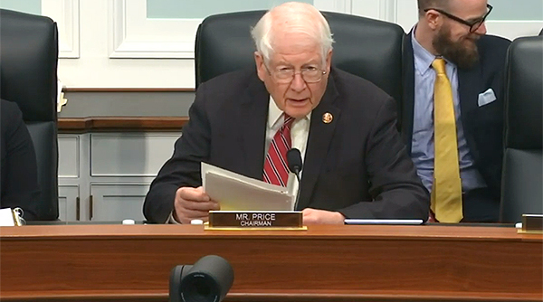 Rep. David Price (D-N.C.), chairman of the transportation funding subpanel.