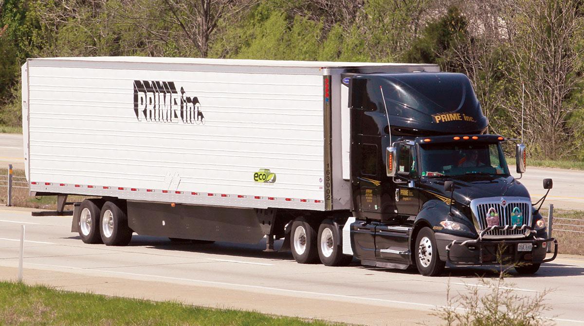 Prime Inc. truck