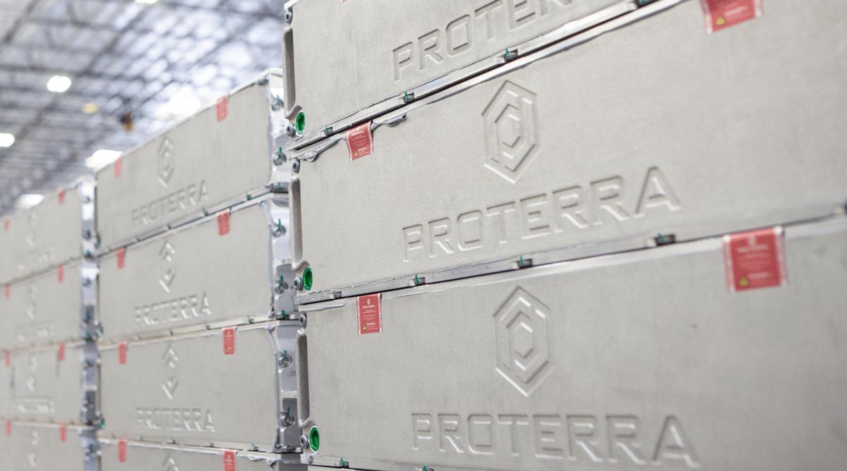 Proterra battery packs. (Proterra)