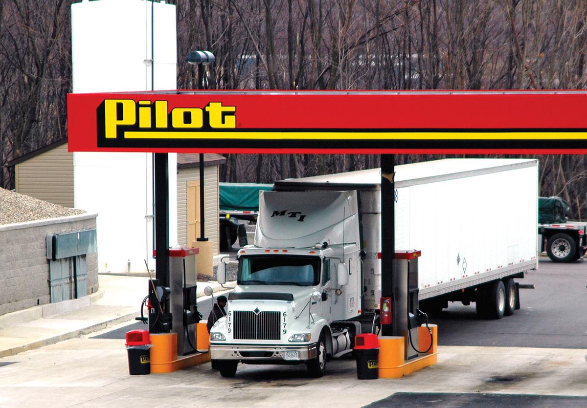 Pennsylvania made gambling at truck stops legal