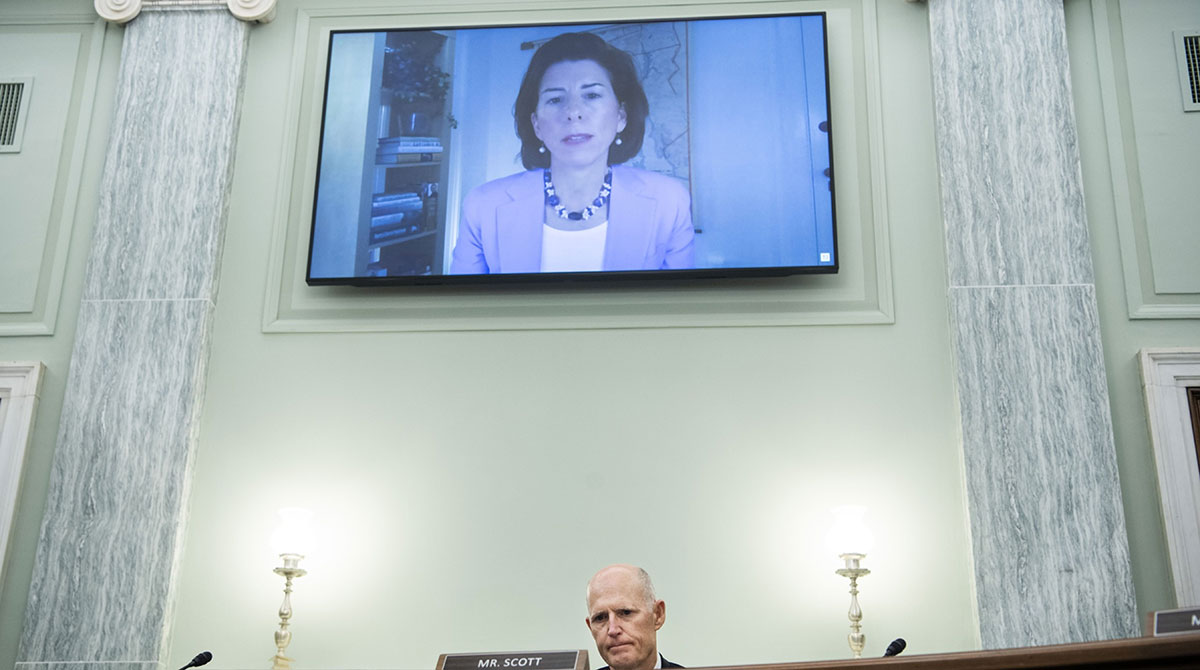 Gina Raimondo confirmation hearing