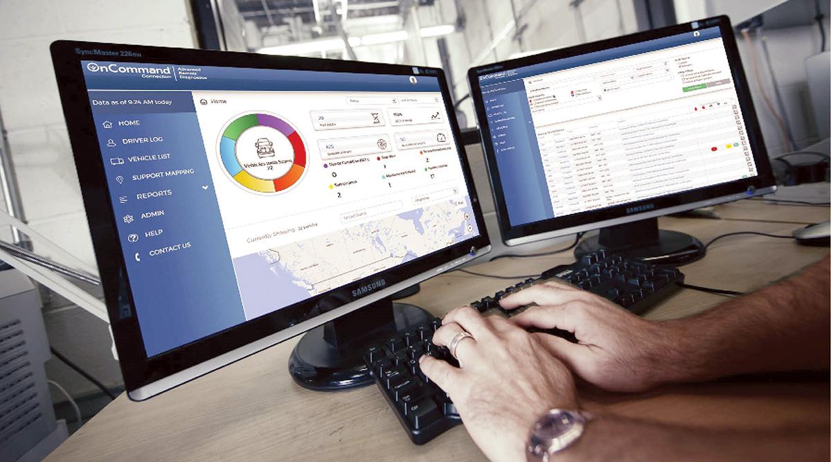 Navistar's OnCommand Connection remote diagnostics system