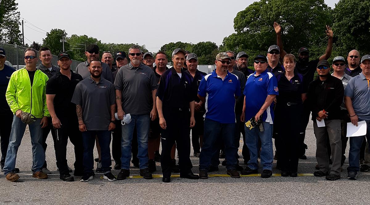 2019 Rhode Island Truck Driving Championships participants
