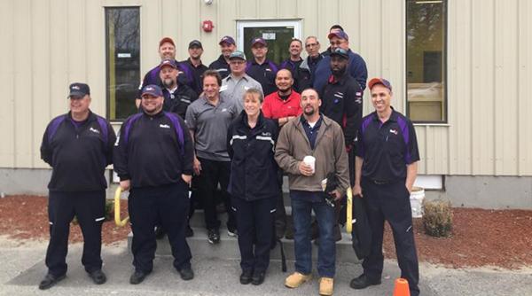 Rhode Island truck driving championship participants