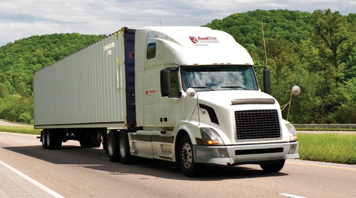 RoadOne IntermodaLogistics truck