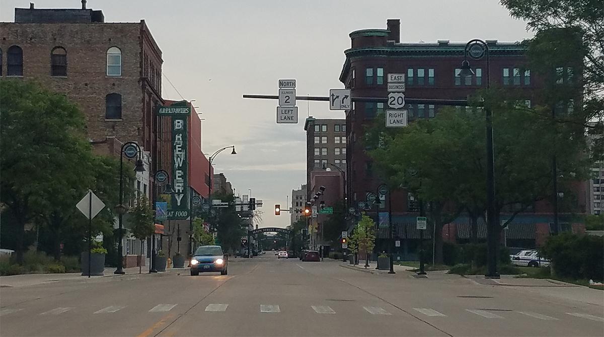 Downtown Rockford, Ill.