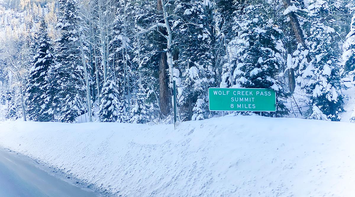 U.S. Route 160 in Colorado