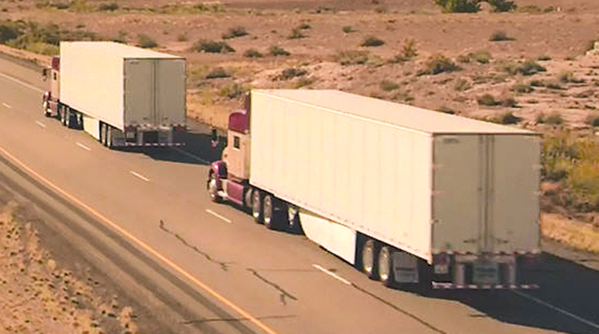 Platooning vehicles