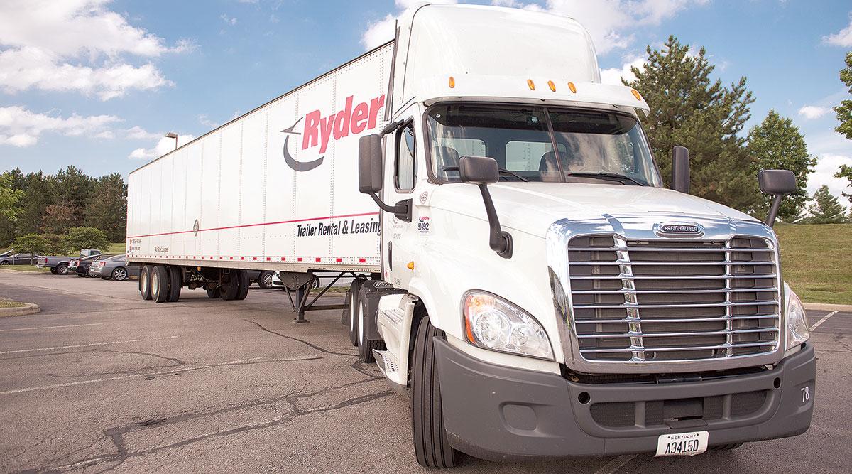 Ryder System truck