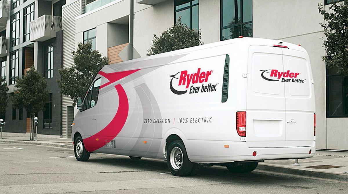 Ryder electric van