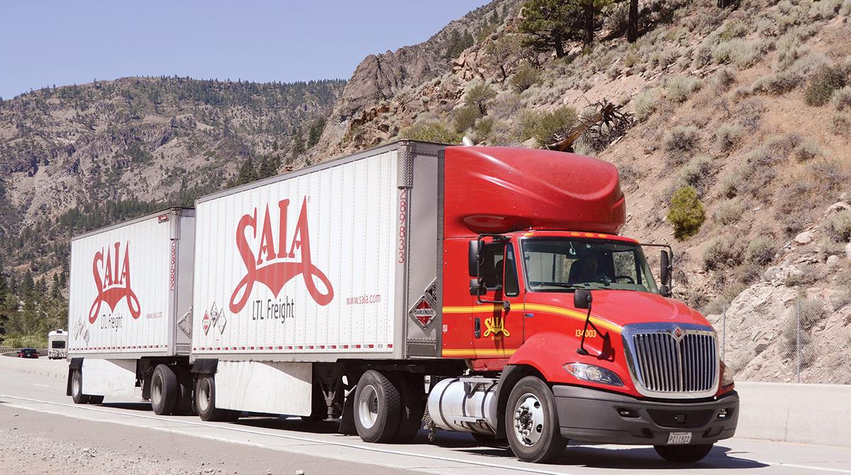 Saia truck
