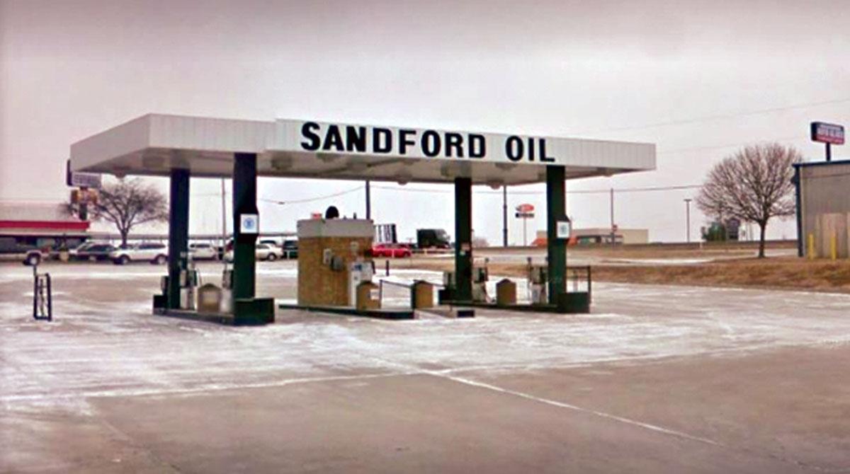 Sandford fuel station