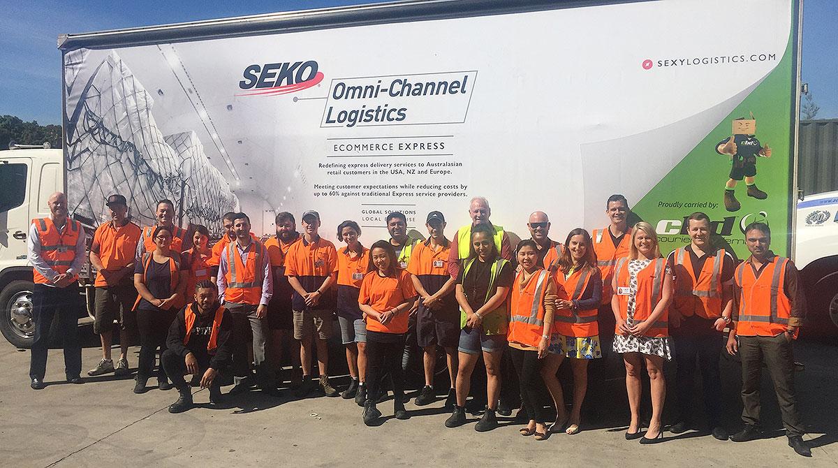 Seko Logistics team