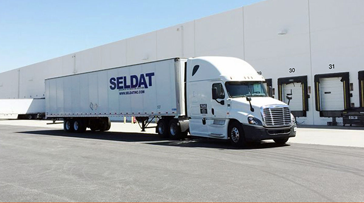 Seldat truck and warehouse