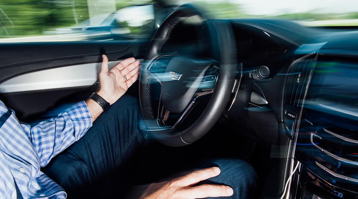 A semi-autonomous car