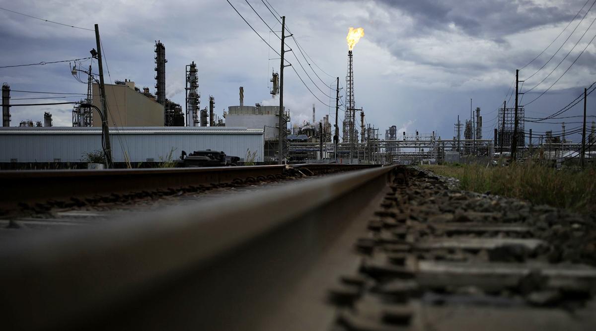 The Royal Dutch Shell Plc Norco refinery ahead of Hurricane Ida in Norco, La., Aug. 28.