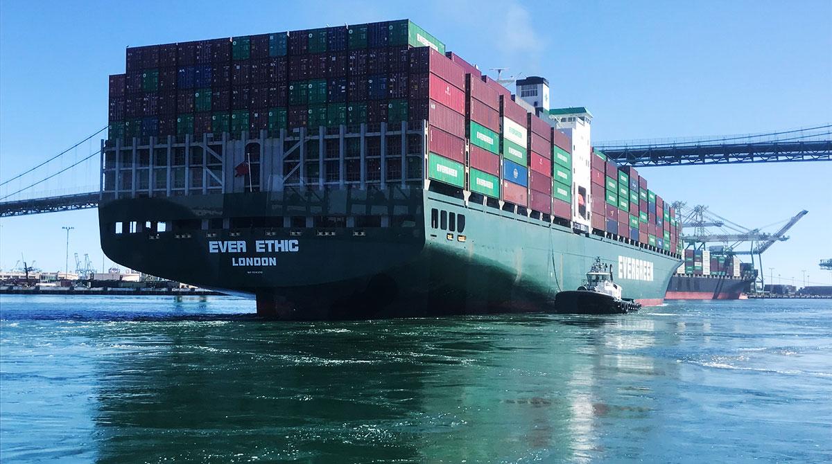 Large Ocean Vessels
