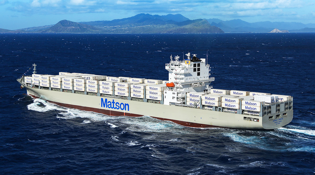 New Matson Vessel Is Largest Containership Ever Built in US
