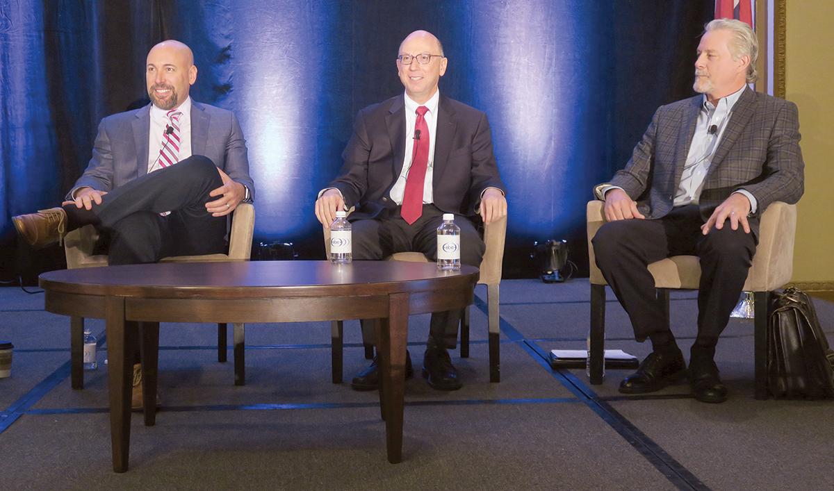 Panelist discuss the state of autonomous trucking