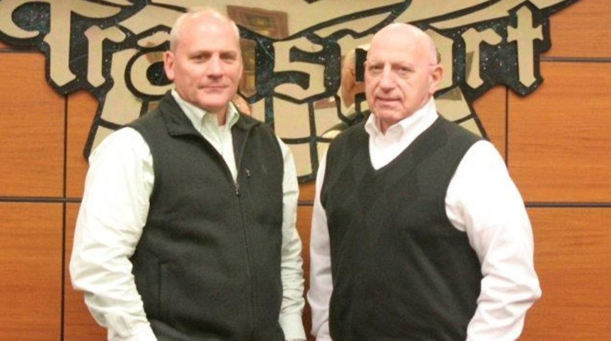 Todd Smith (left) and Barry Smith of Smith Transport Inc.