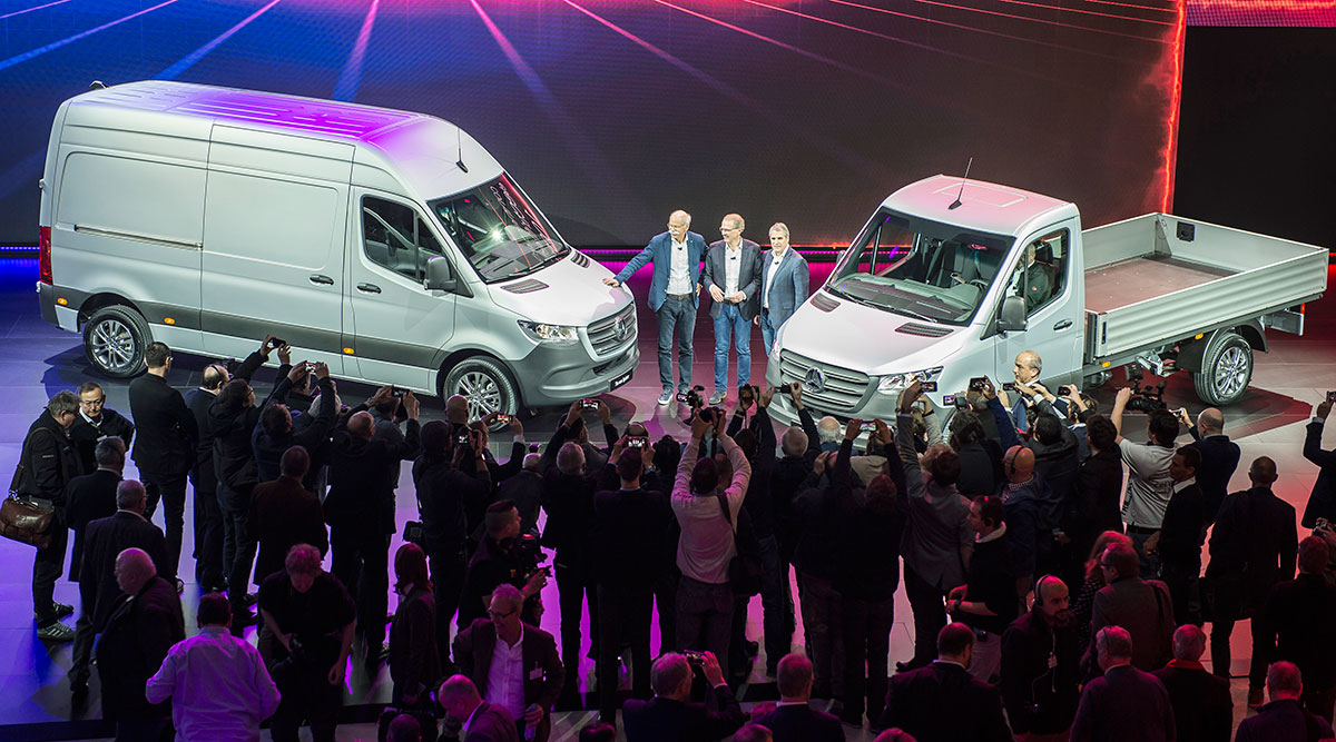 Unveiling of the new Sprinter