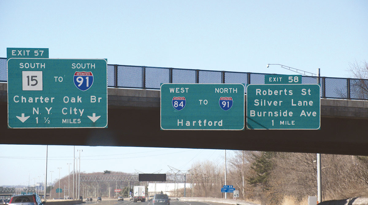 I-84 in Connecticut