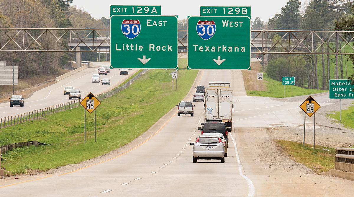 Interstate 30 in Arkansas