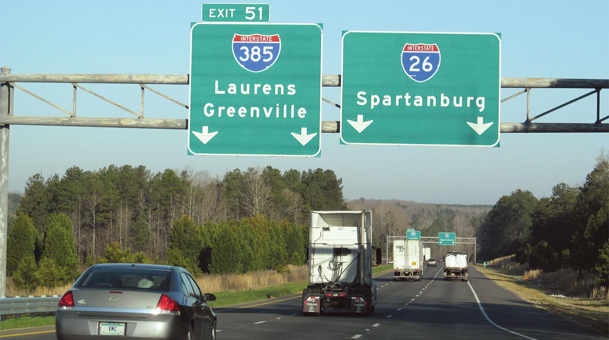 South Carolina Interstate 26