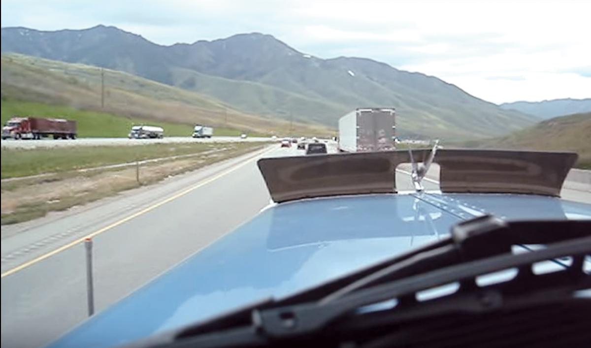 Traffic on Parley's Summit