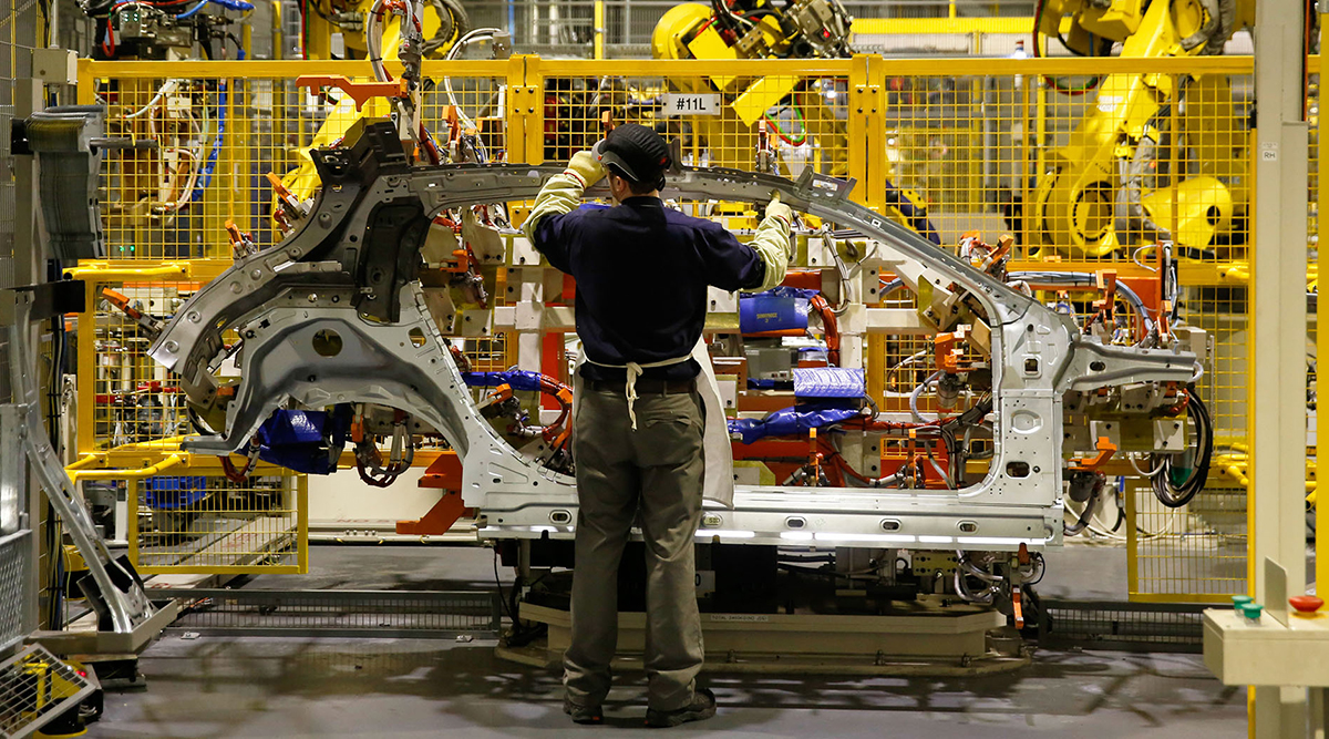 Automobile assembly