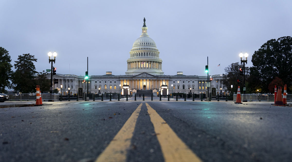 The U.S. Capitol building on Oct. 26.