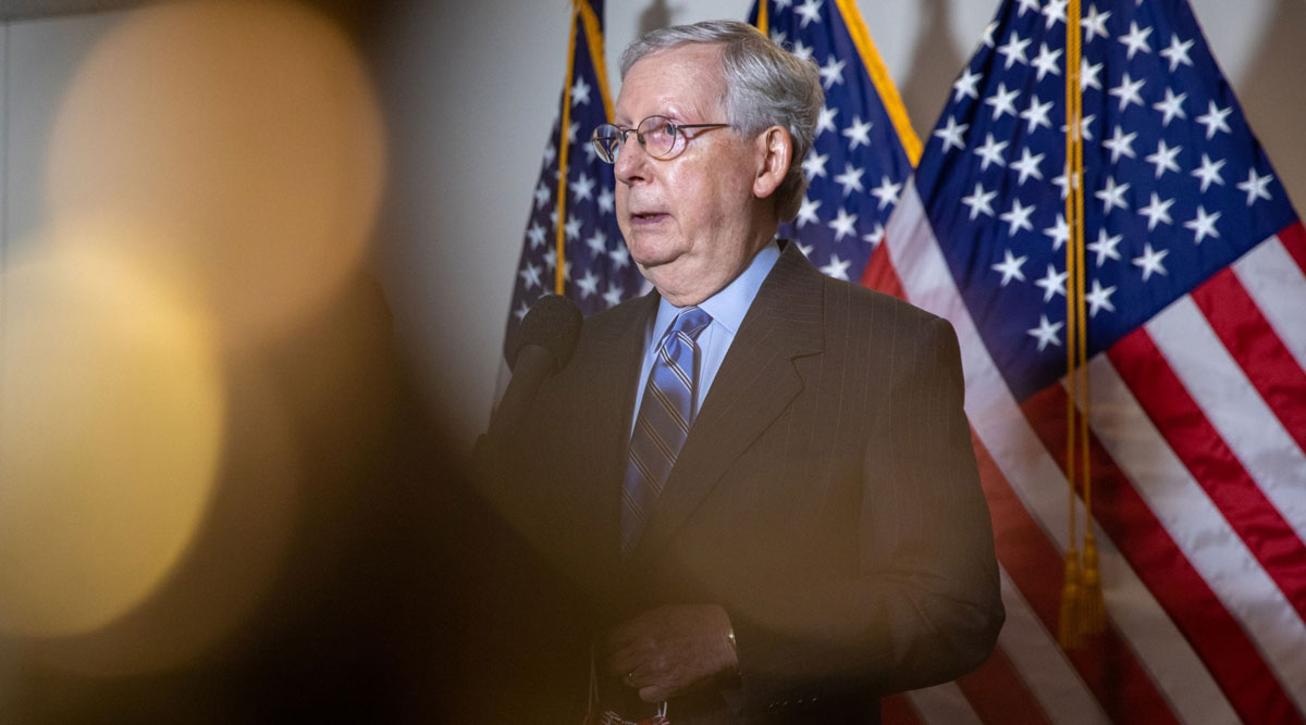 Mitch McConnell has found himself on the outside looking in during this relief bill negotiation.