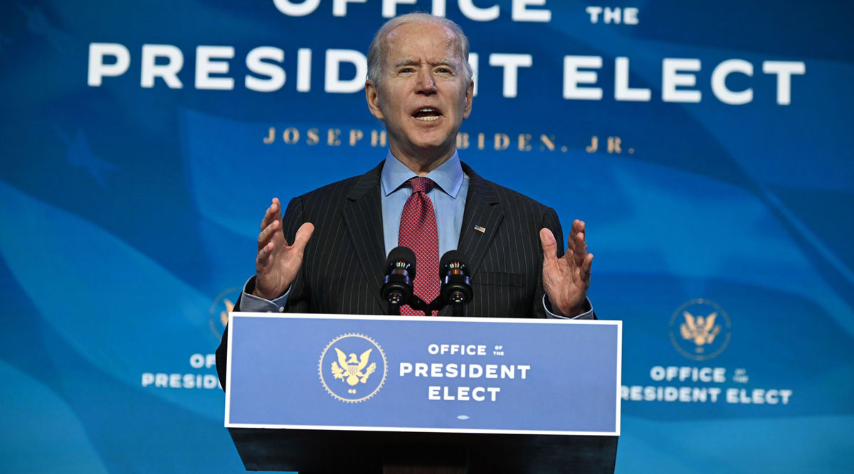 President-elect Joe Biden's interest in a large stimulus bill likely will face a test in the Senate.