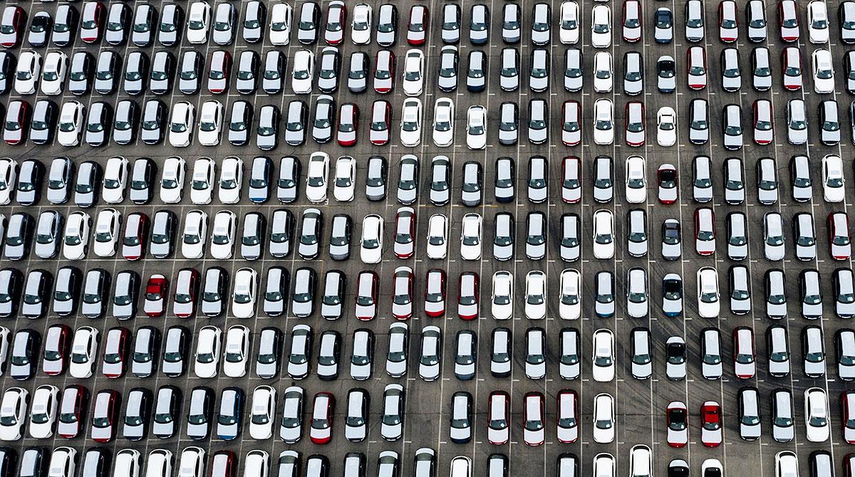 SUVs at Port of LA